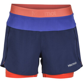 Marmot W's Pulse Short Arctic Navy/Gemstone